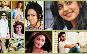 Debutants of Bollywood 2014