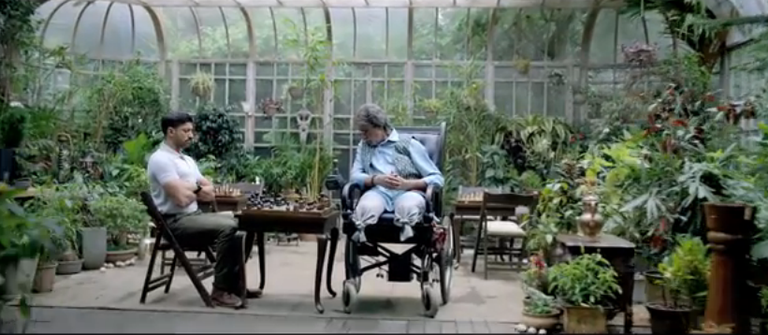 Farhan Akhtar and Amitabh Bachchan in Wazir Trailer