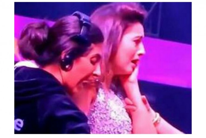 Gauhar slapped on reality show