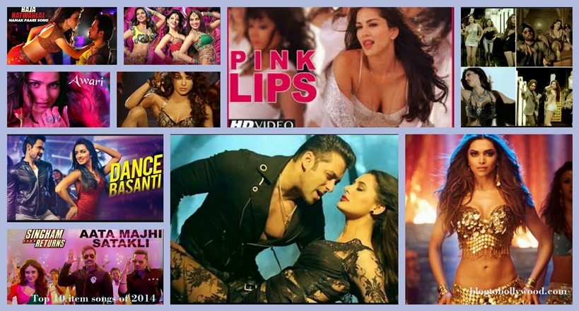 Top 10 item songs of 2014 : Bollywood divas goes sexy