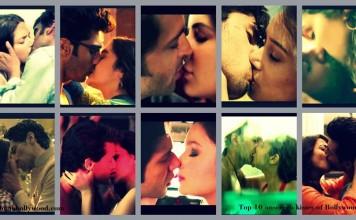 Top 10 onscreen kissing scenes of 2014