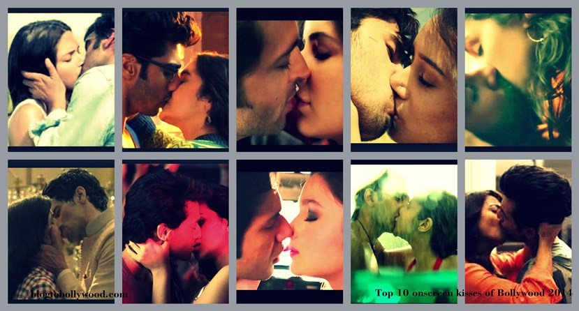 Bollywood 2014 : Top 10 onscreen Kissing scenes
