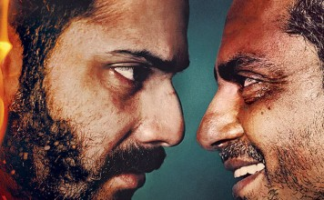 Badlapur Movie Poster feat. varun and Nawaz