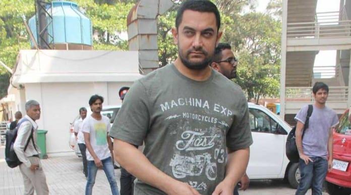 Aamir Khan's look in Dangal