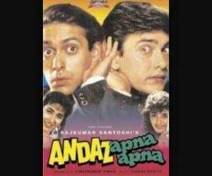 Andaaz Apna Apna Movie Poster
