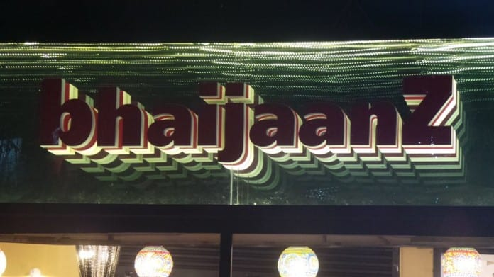 Bhaijaanz Restaurant : Outside View