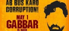 Gabbar is Back Poster 2