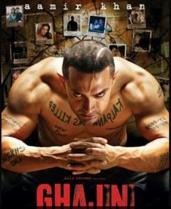 Top 10 Movies of Aamir Khan : Ghajini