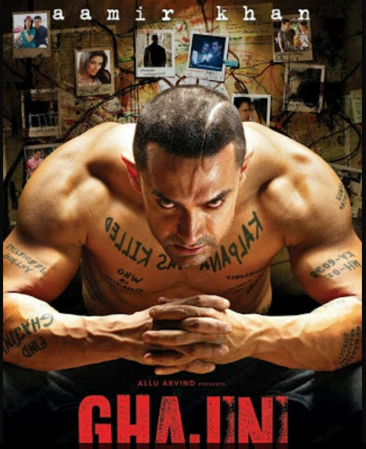 Aamir Khan's Ghajini is the first 100 crore grosser of Bollywood