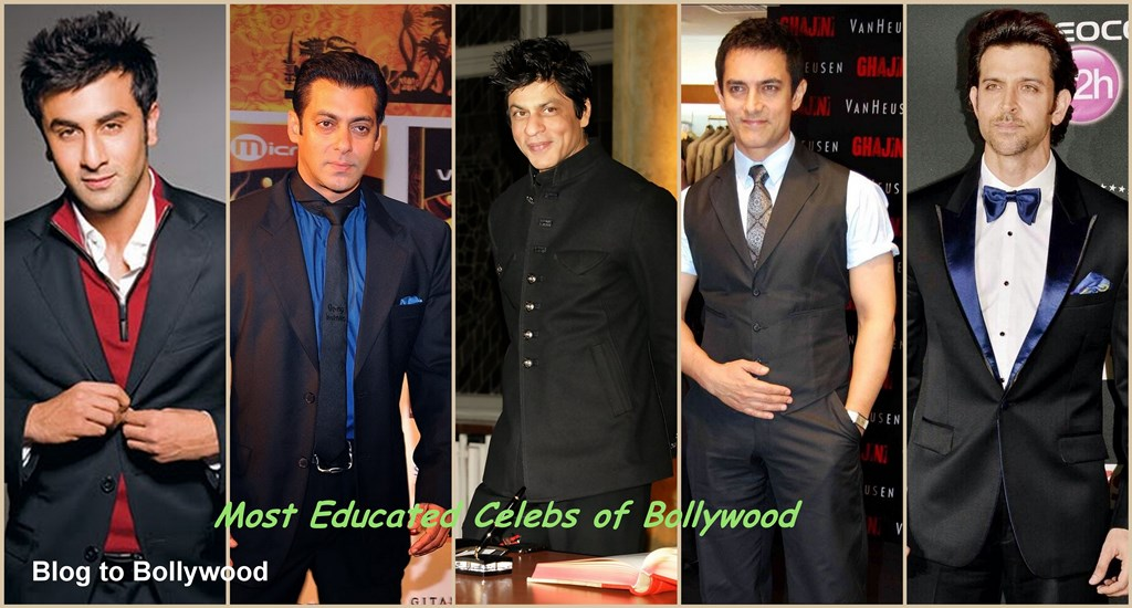 How educated are the Bollywood Celebs?