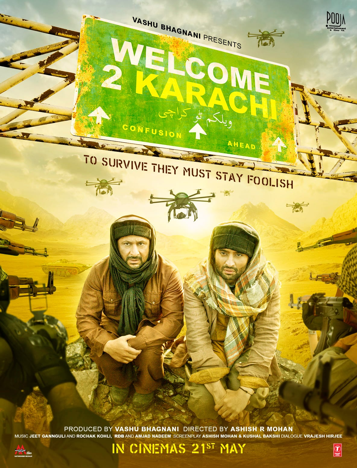'Welcome 2 Karachi' First Look Poster Out