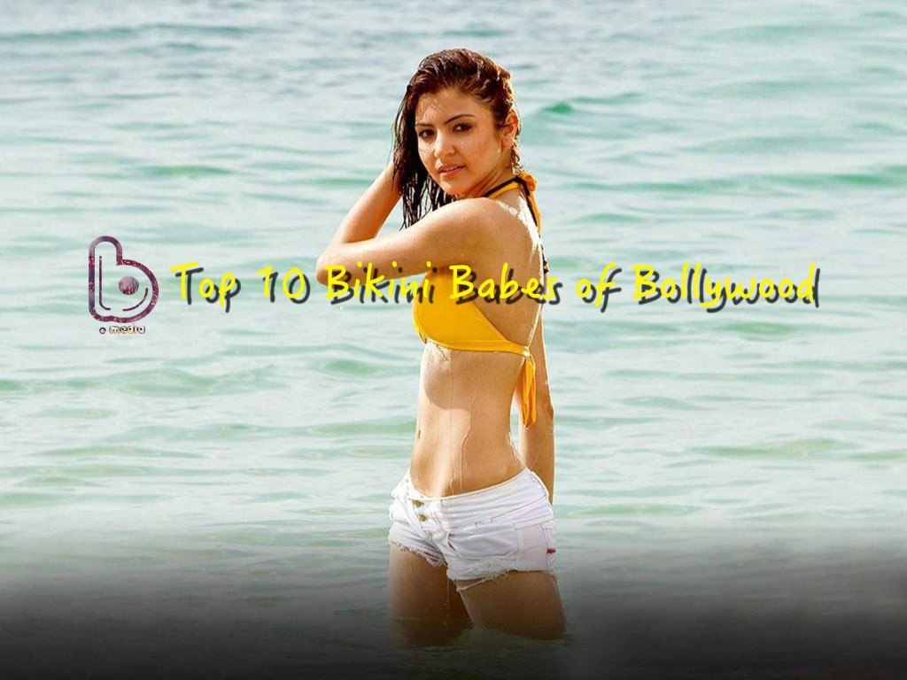 Top 10 Bikini Bases of Bollywood - Anushka Sharma