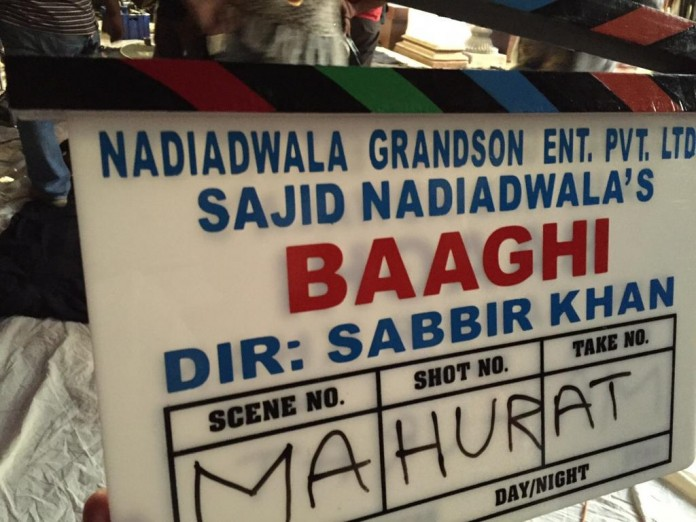 Tiger Shroff and Shraddha Kapoor's next Baaghi goes on Floors