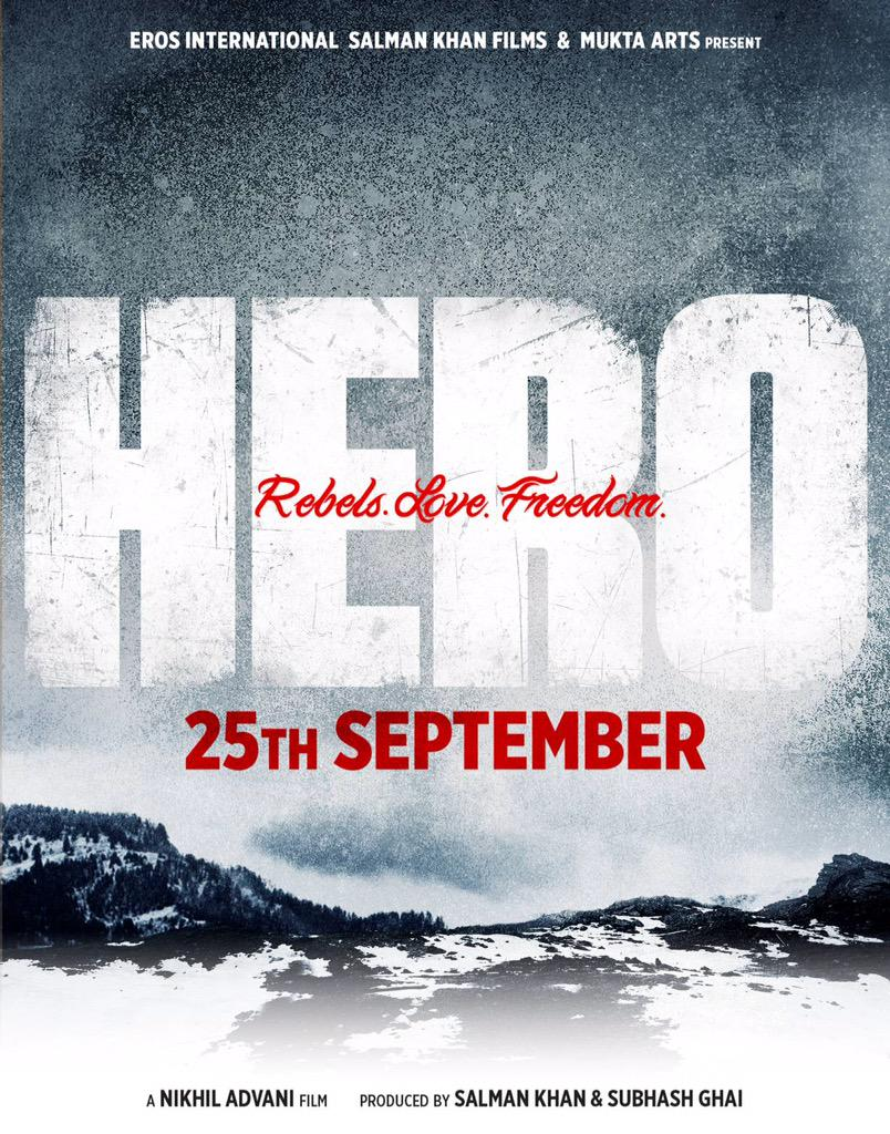 Hero First Look Revealed: To Release on 25 Sep 2015