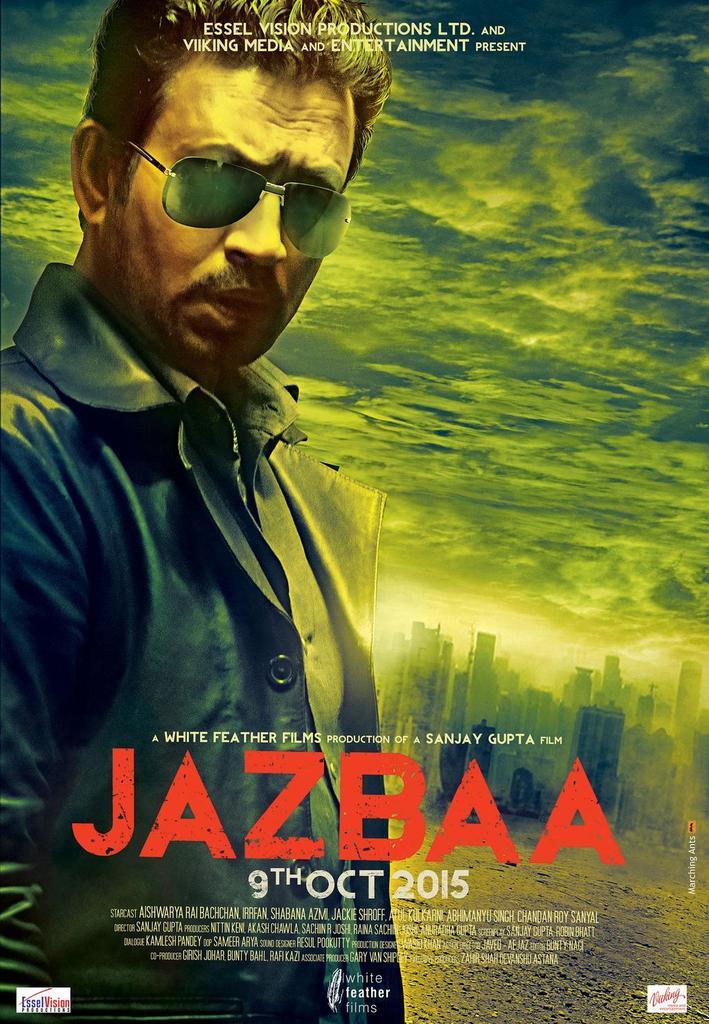 Irrfan Khan's First Look in Jazbaa Revealed