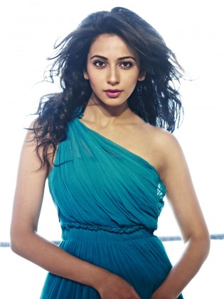 Rakul Preet Singh Pictures You Can't miss - Rakul Preet Singh Blue Dress
