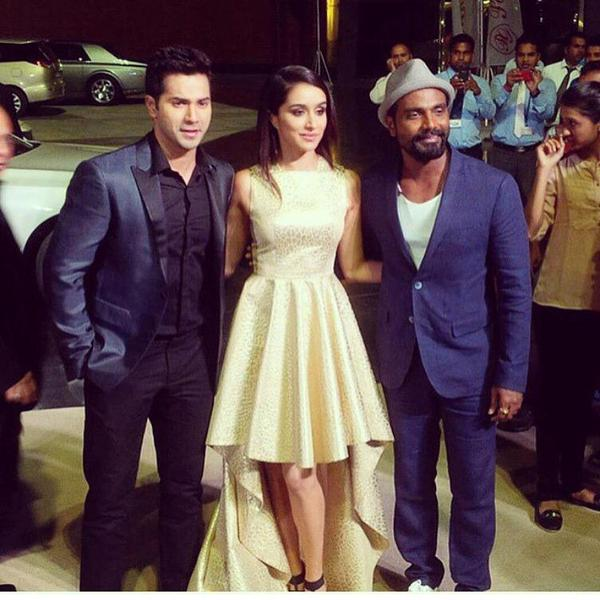 Shraddha, Varun and Remo promoted ABCD 2 - AIBA Awards 2015 Photos