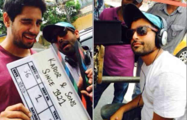 Sidharth, Alia Began Shooting of Kapoor and Sons