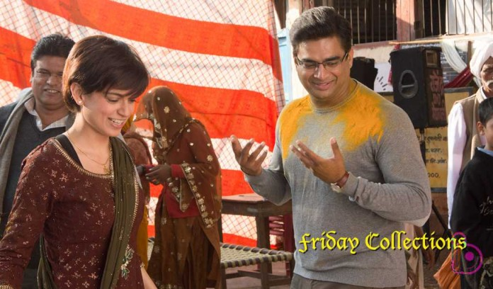 Tanu Weds Manu Returns Friday Box Office Collections