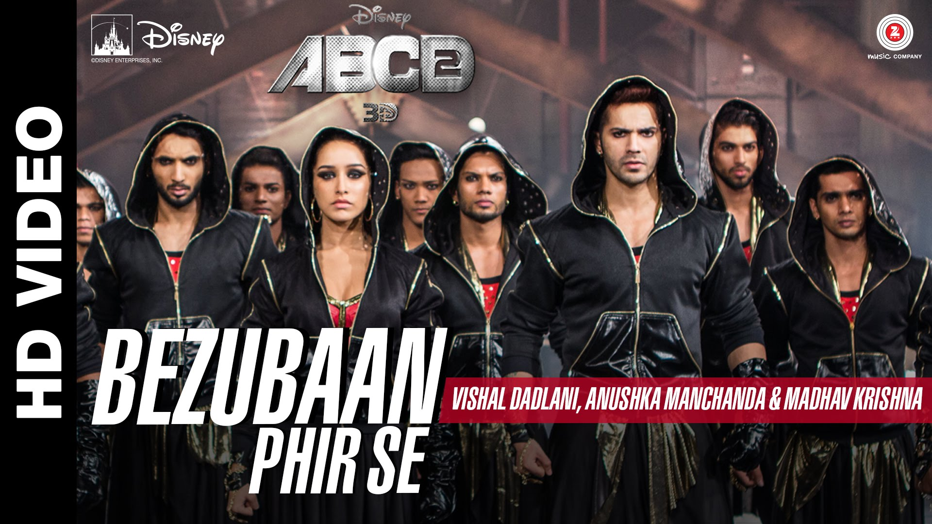Bezubaan Phir Se Video Song – ABCD 2 | Official Video Song