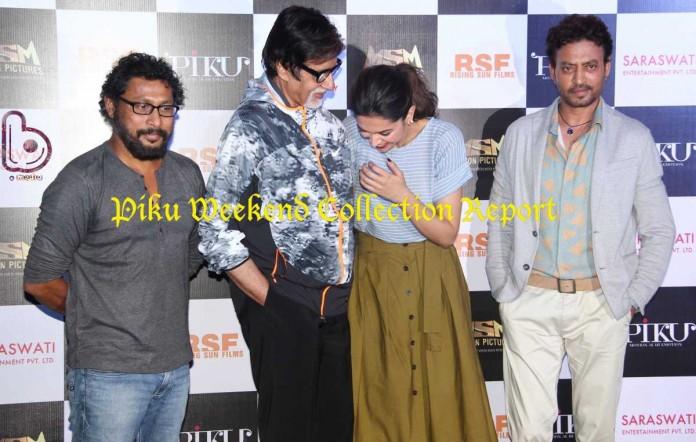Piku Launch Still - Amitabh Bachchan, Deepika Padukone, Irrfan Khan