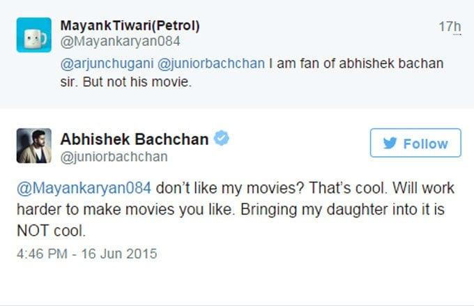 Abhishek Bachchan trolls