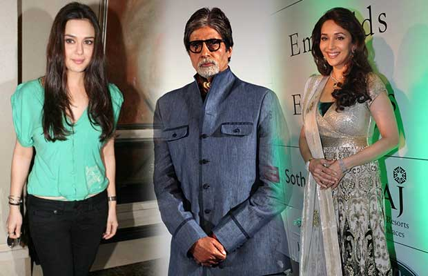 Amitabh, Madhuri and Preity