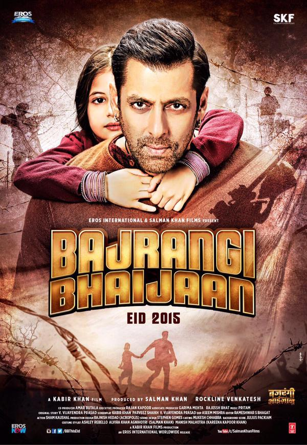 Salman Khan Is A Saviour In The New Poster Of Bajrangi Bhaijaan