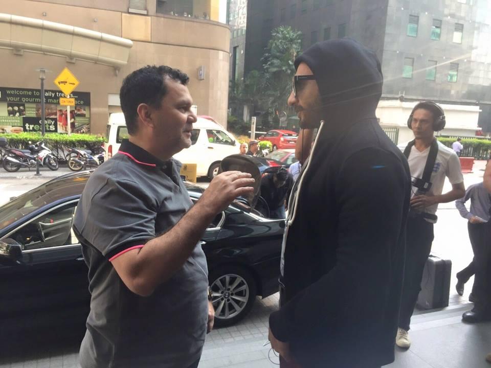 Macho Man Ranveer Singh at Kuala Lumpur