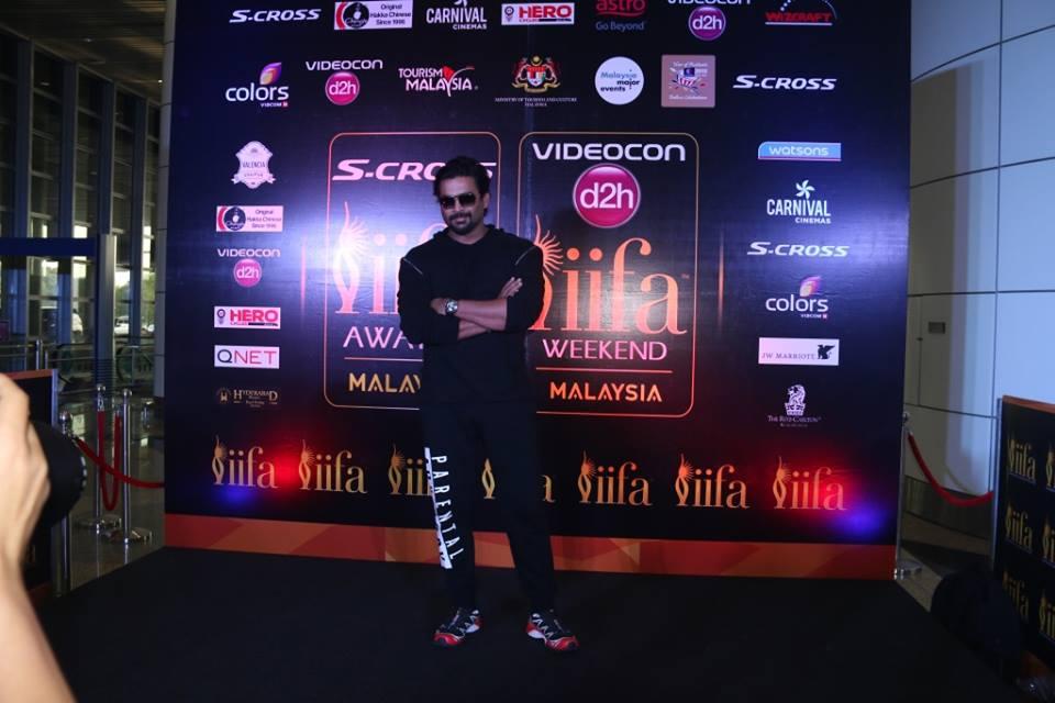 R. Madhavan arrives at IIFA 2015