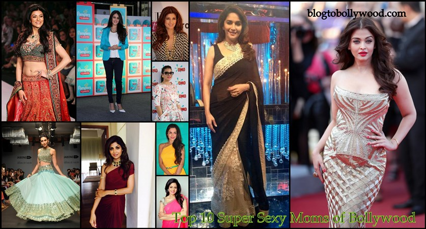 Top 10 Super Sexy Moms Of Bollywood And Their Fashion Sense