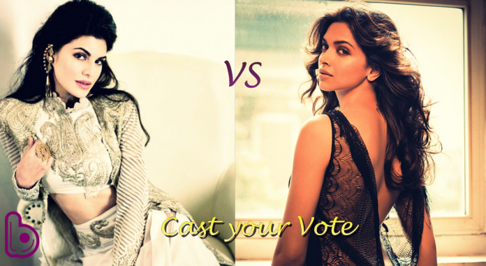 Jacqueline Fernandez Vs Deepika Padukone : Fight for the Hottest 10