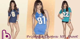 priyanka Chopra leggy lady shoot
