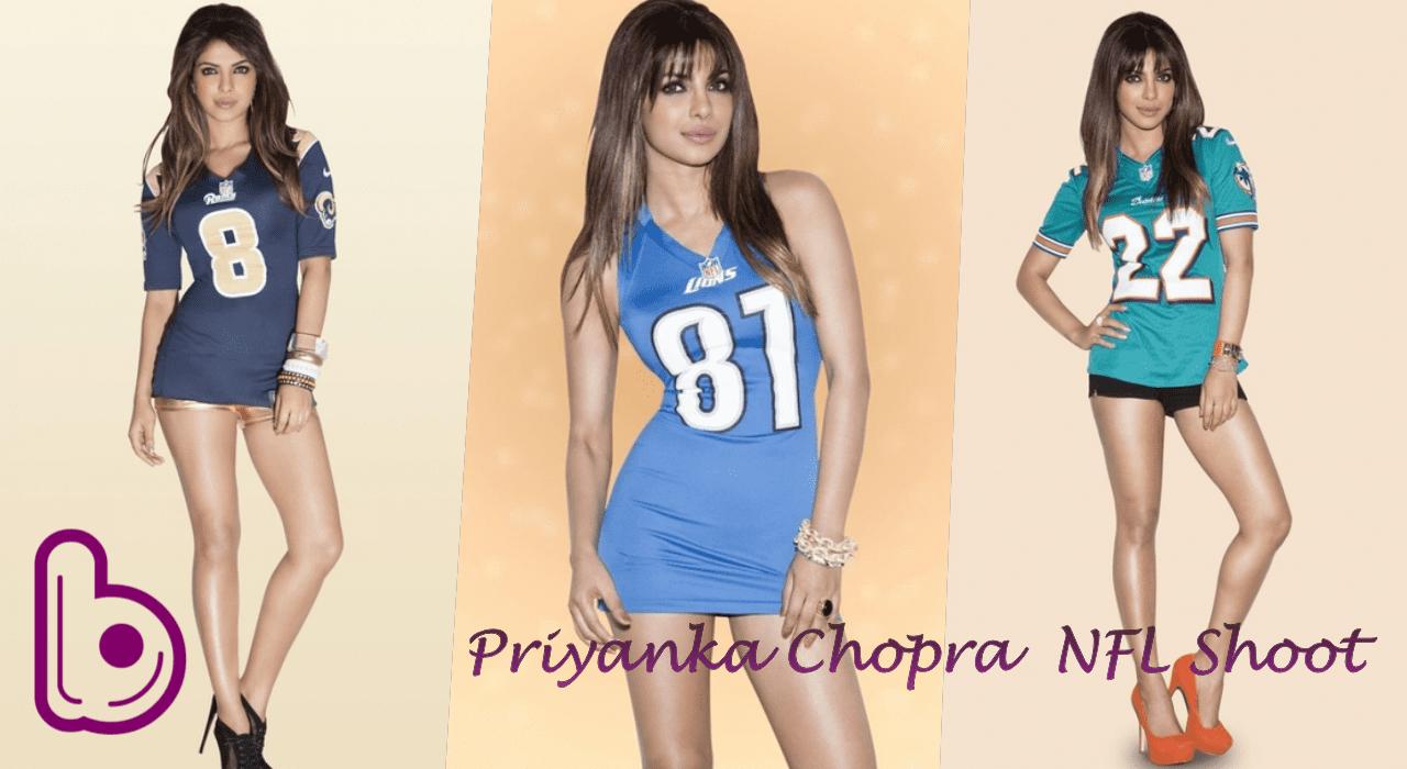 Priyanka Chopra's NFL Shoot Justifies her Leggy Lady Tag