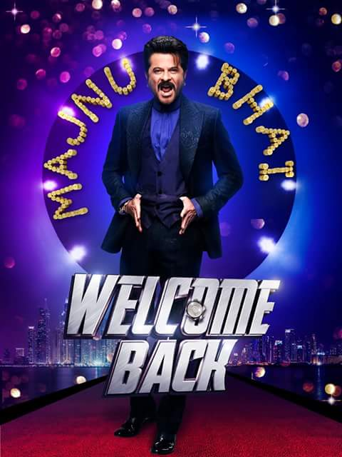 Welcome Back First Look Out Posters - Anil Kapoor