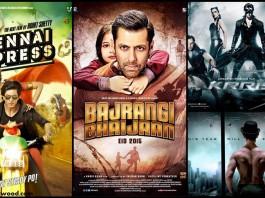 Bajrangi Bhaijaan vs Dhoom 3 vs Chennai Express vs Krrish 3 Box Office Collection
