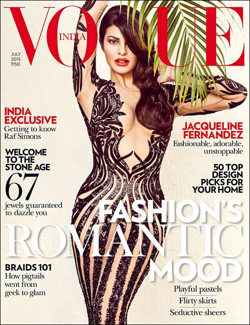 Jacqueline on cover of Vogue July Edition