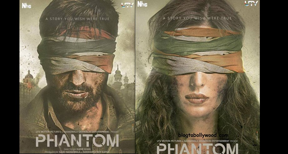 'Phantom' First Look Posters Out, Trailer To Be Released On 25th July