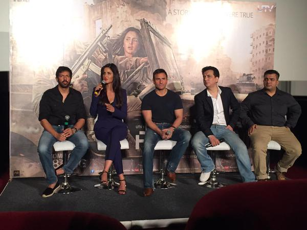 Phantom trailer Launch: Katrina answering media questions