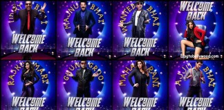 Star cast of Welcome Back