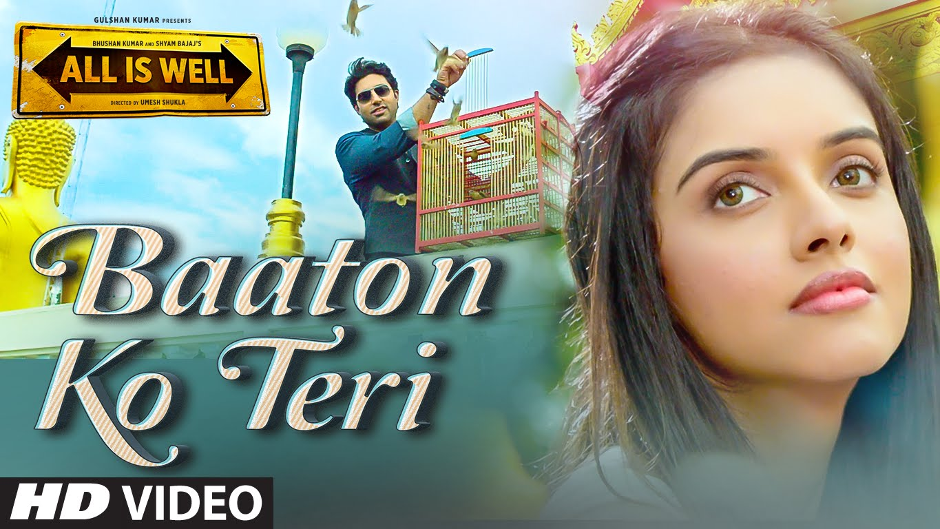 Baaton Ko Teri Video Song | All Is Well | Official Video Songs