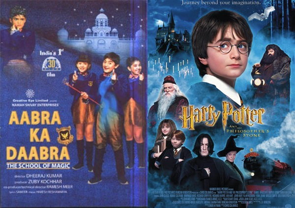 Aabra Ka Daabra (2004)- Harry Potter and the Philosopher's Stone (2001)
