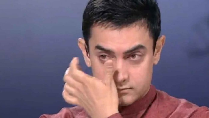 Aamir Khan Cried Again and This Time Trolled on Twitter