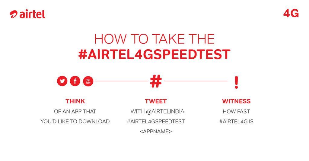 #Airtel4GSpeedTest step by step guide