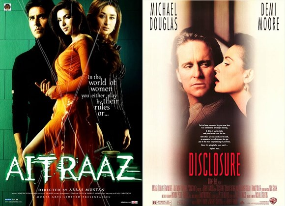 10 Bollywood Movies you didn't know were Hollywood Copies - Aitraaz