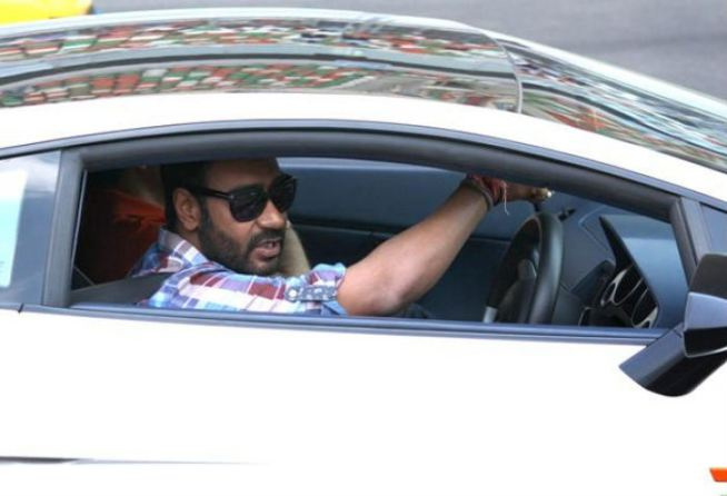 10 Celebrities who own EXORBITANT LUXURY RIDES-Ajay Devgan