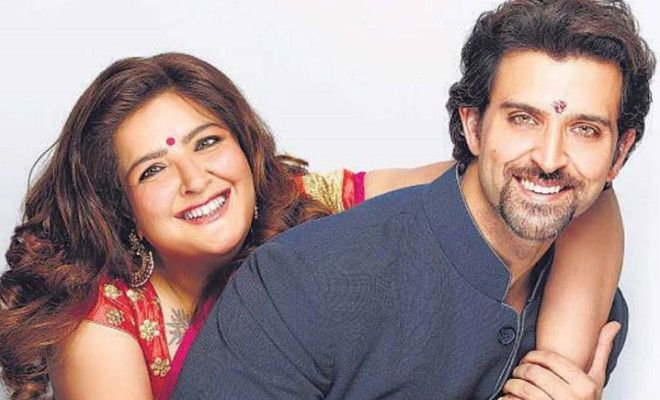 Bollywood Brothers and Sisters - Hrithik And Sunaina