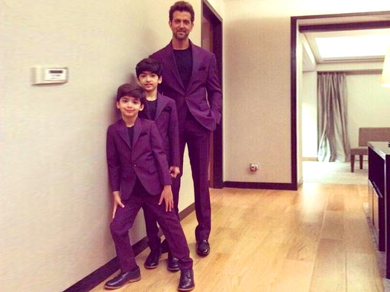 10 Most Adorable Star Kids that you will swoon over!-Hrithik, Hrehaan and Hredhaan