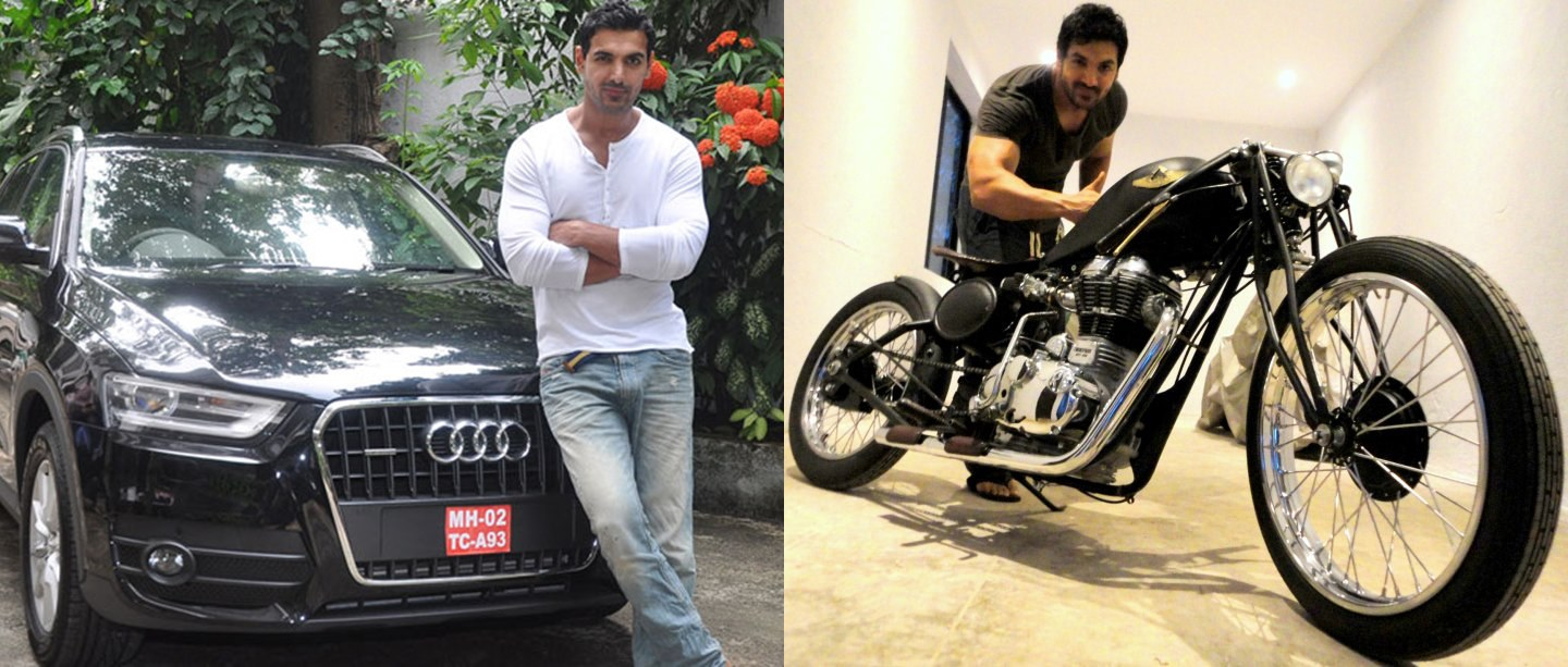 10 Celebrities who own EXORBITANT LUXURY RIDES-John Abraham