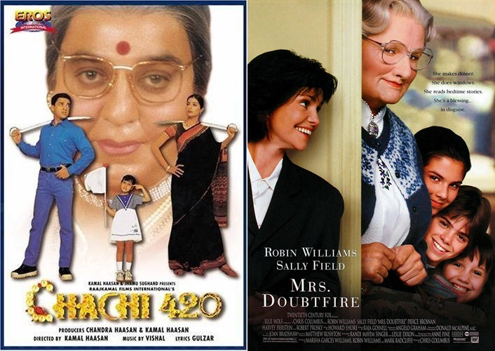 10 Bollywood Movies you didn't know were Hollywood Copies - Chachi 420
